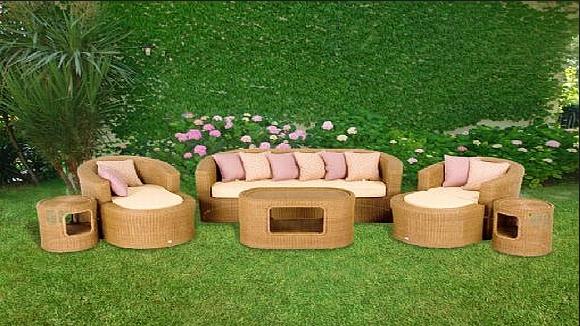 Bambu Oturma Grupları