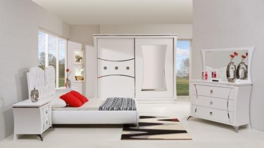 Beyaz Yatak Odası Mobilyaları