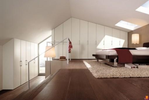 Çatı katı dubleks ev