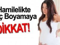 Hamilelikte Saç Boyamaya Dikkat