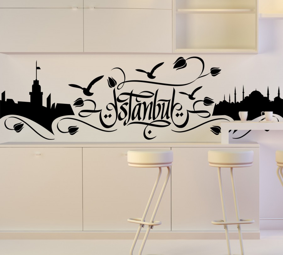İstanbul Duvar Sticker